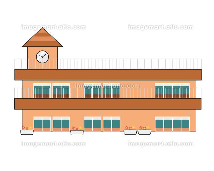 保育園 茶色の屋根の販売画像