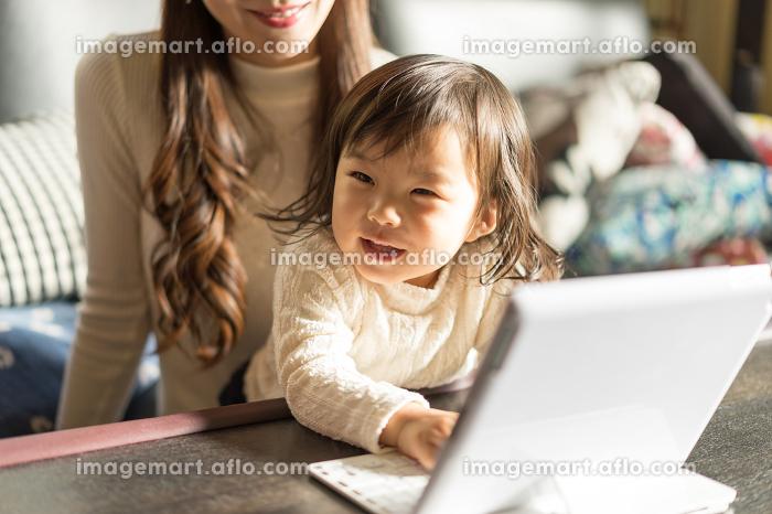 家族イメージ(パソコン・PC・タブレット)の販売画像