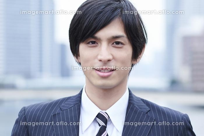 日本人ビジネスマンのポートレートの販売画像