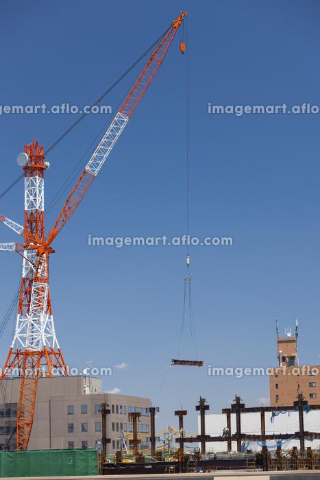 高層ビルの建設現場の販売画像