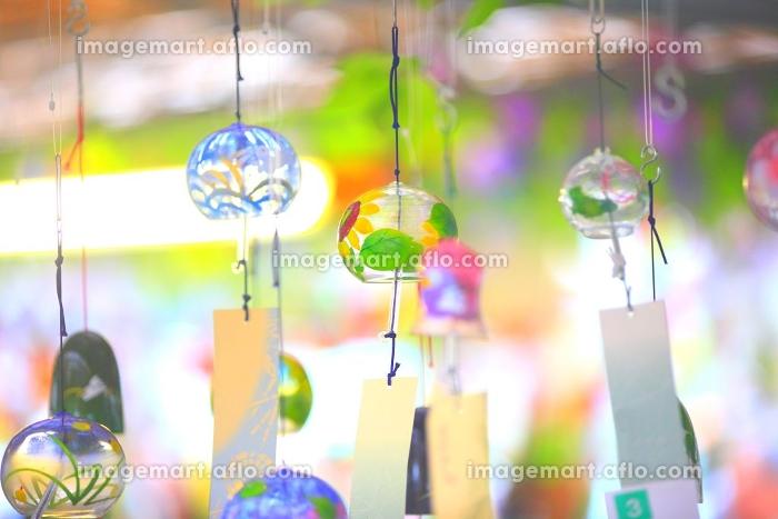様々な風鈴の販売画像