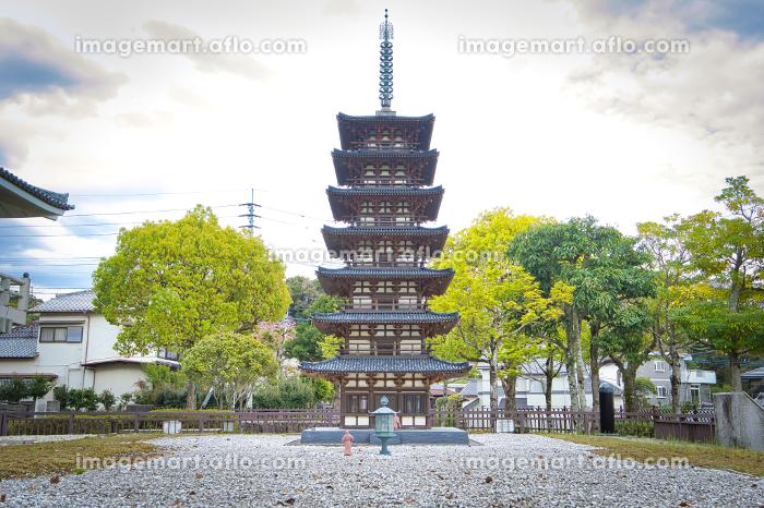 太宰府市文化ふれあい館に設置されている七重塔の販売画像