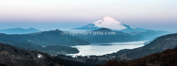 Fuji Mountain Lake Hakone Sunriseの販売画像