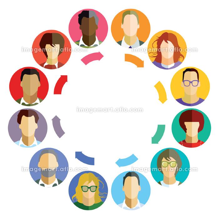 concept for business teamwork,brainstormの販売画像