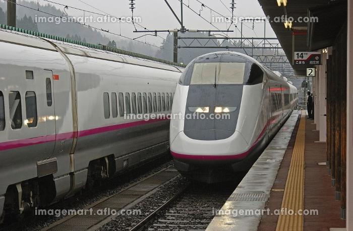秋田新幹線 こまち95号 角館駅にての販売画像