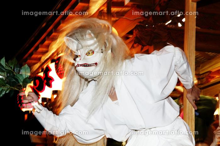 夏祭り 白狐(上溝夏祭り)の販売画像