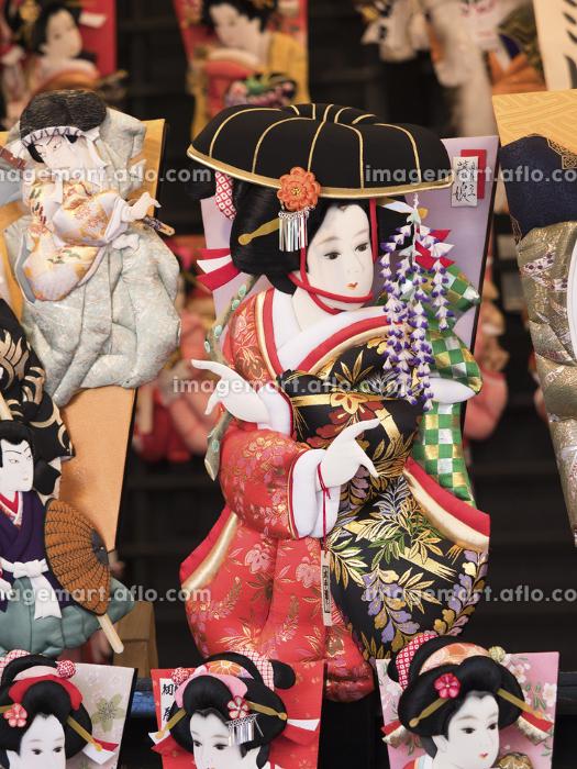 浅草 羽子板市の販売画像