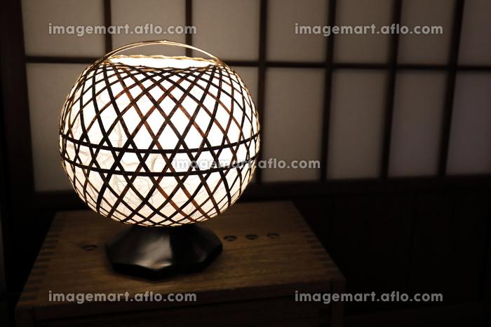 和風の卓上照明器具の販売画像