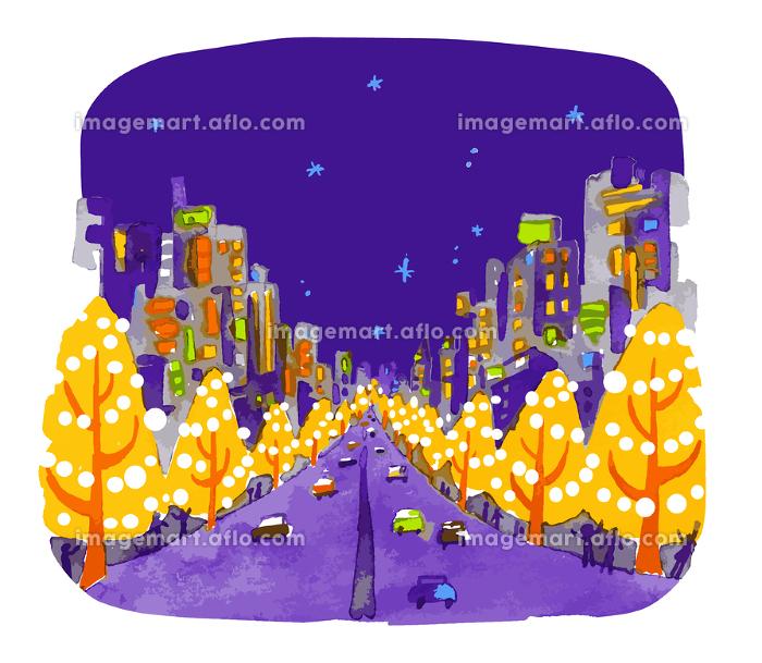 夜景 イルミネーションの販売画像