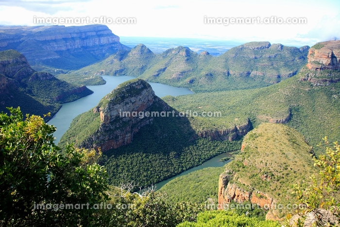 南アフリカ共和国 ブライデ・リバー・キャニオン