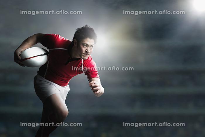ラグビー選手の販売画像