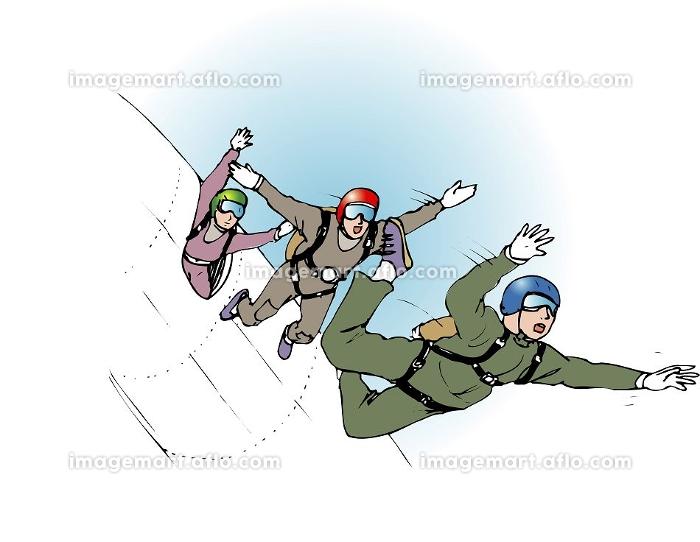 スカイダイビングの販売画像