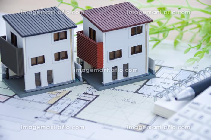 住宅の計画イメージの販売画像