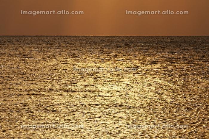 夕暮れの海 宮古島の販売画像