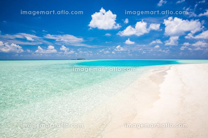 Beautiful sunny ocean beachの販売画像
