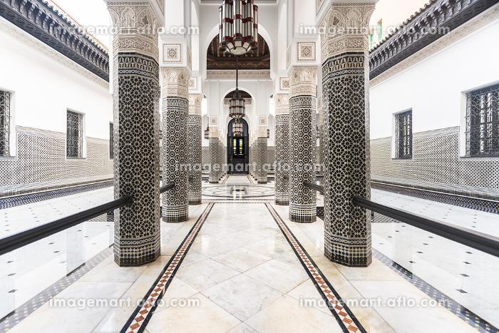 Architecture interior of  a Riad in Marrakesh
