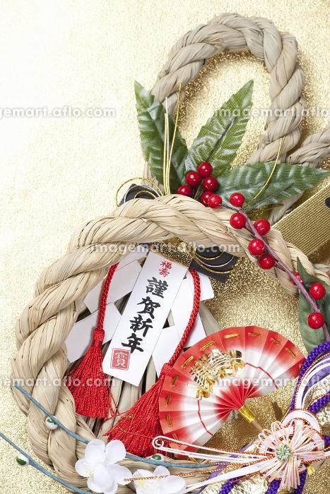 正月飾りの販売画像