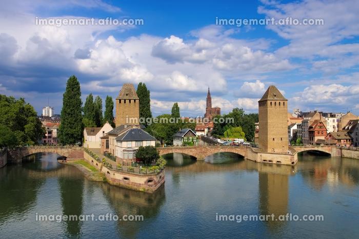 strasbourg in alsace - skyline strasbourg in alsaceの販売画像