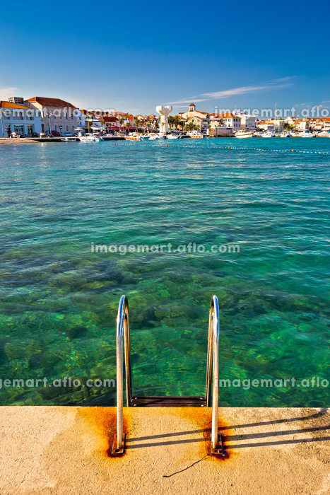 Town of Vodice view from beachの販売画像