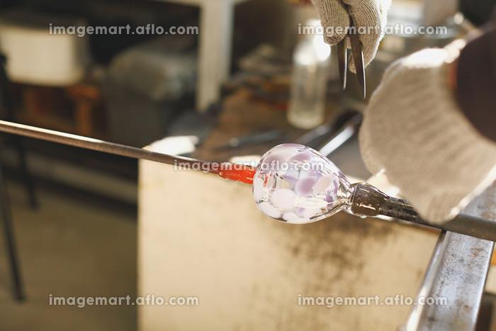 ガラス工房 吹きガラス
