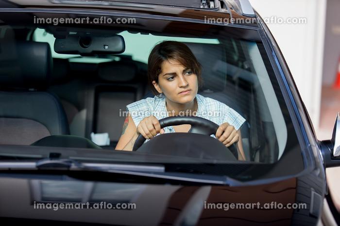 Girl in the carの販売画像
