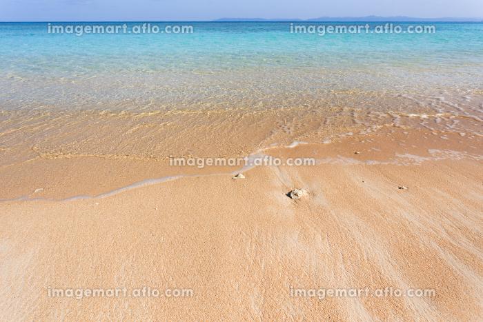 ニシ浜・日本最南端、沖縄県波照間島の海の販売画像