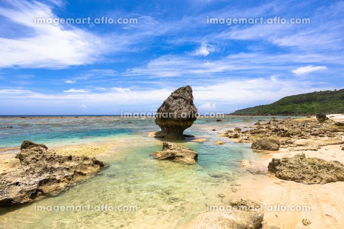 沖縄県宮古島、6月の吉野海岸・日本の販売画像