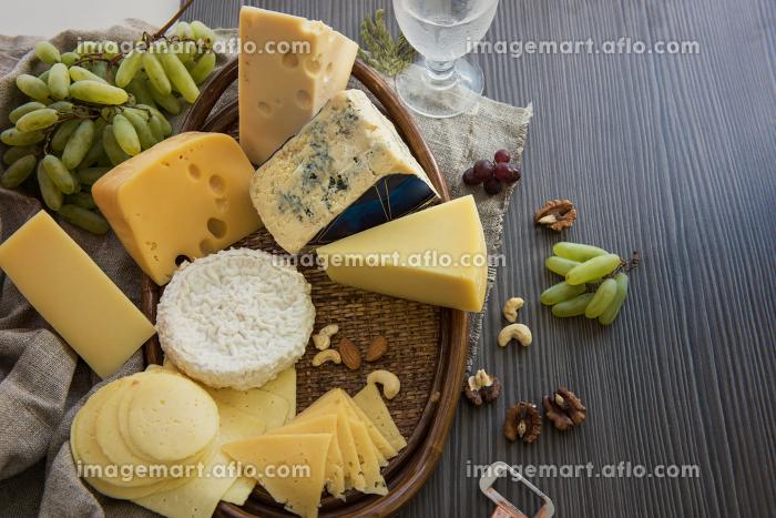 Various types of cheese setの販売画像