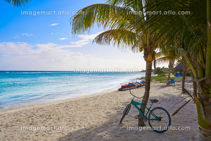 Mahahual Caribbean beach in Costa Maya of Mayan Mexicoの販売画像