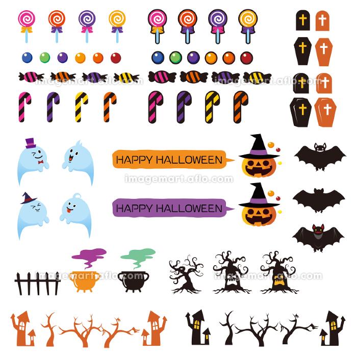 ハロウィン素材の販売画像