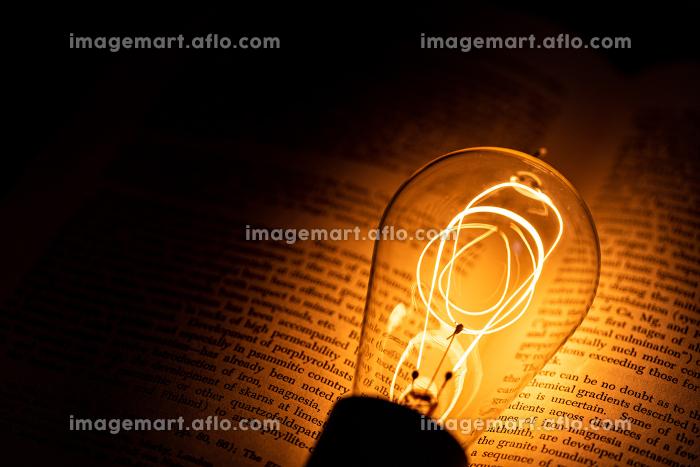 本とエジソン電球の販売画像