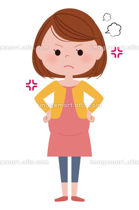 妊婦さん 怒りの販売画像