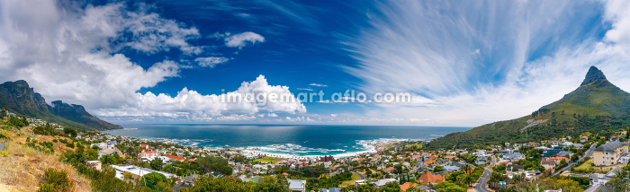 Cape Town panoramic landscapeの販売画像