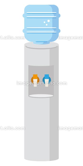 ウォータークーラーのイラストレーションの販売画像