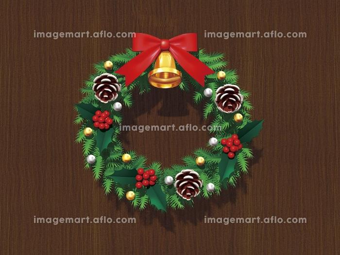 クリスマスリースの販売画像
