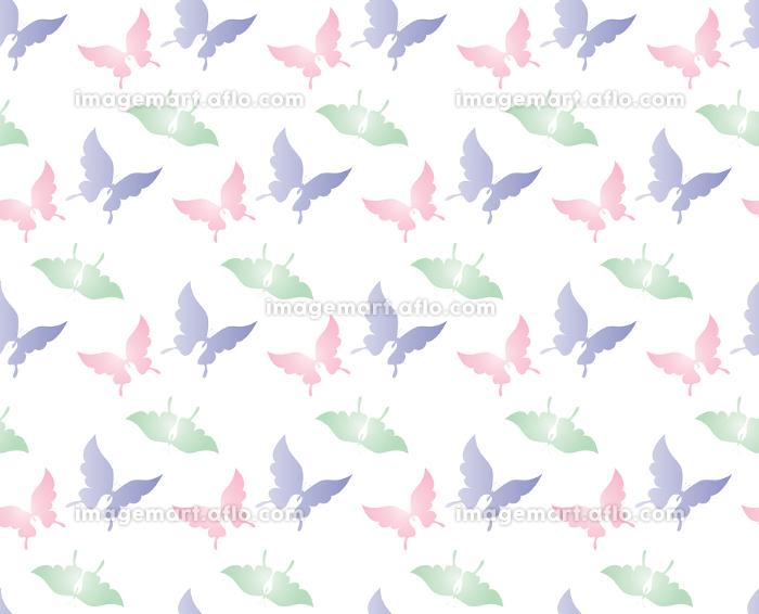 胡蝶 アゲハチョウ デザイン 継ぎ目のないシームレスパターン 背景素材 イラスト ベクターの販売画像