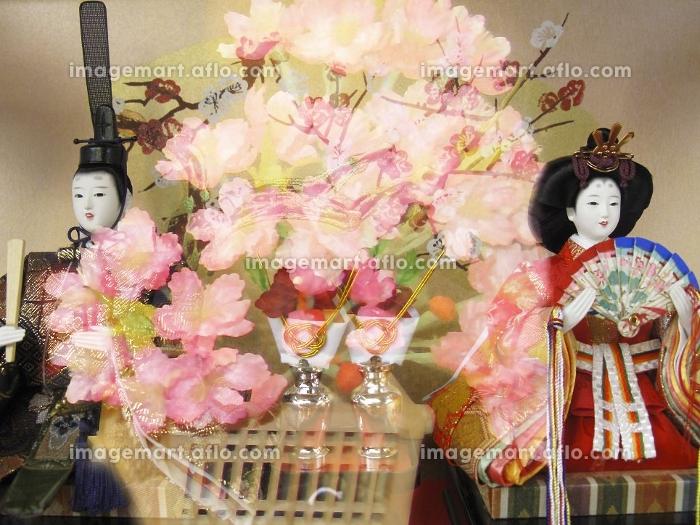 雛人形の合成の販売画像