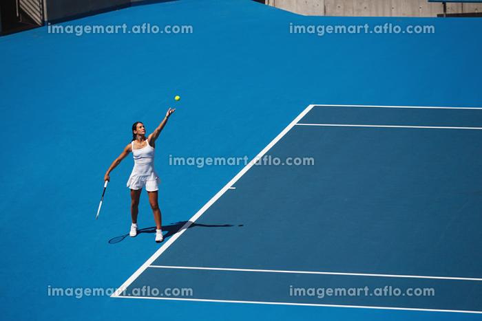 女子テニスの販売画像