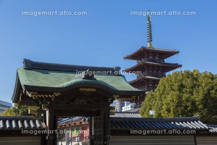 四天王寺虎之門 と五重塔の販売画像