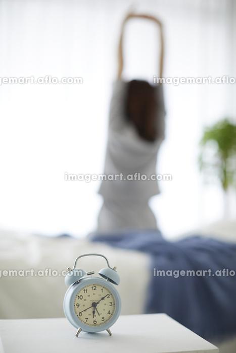 目覚まし時計と朝