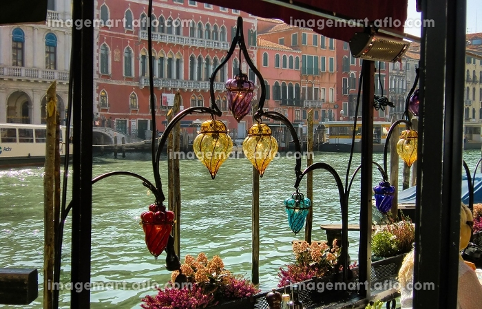 Restaurant on the Grand Canal in Venice #3の販売画像