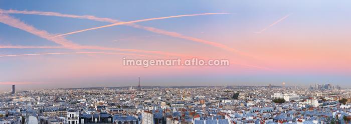 Sunrise in Paris, France