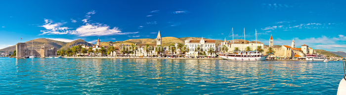 Trogir UNESCO world heritage site panoramicの販売画像