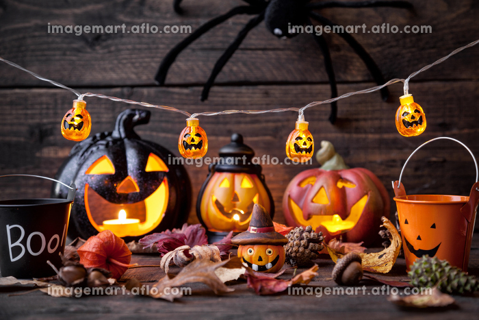 Traditional scary halloween holiday backgroundの販売画像