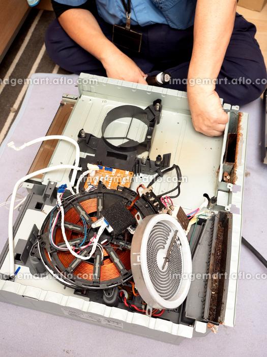 IHクッキングヒーターの修理の販売画像