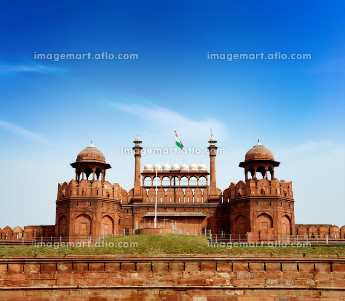 India, Delhi, the Red Fortの販売画像