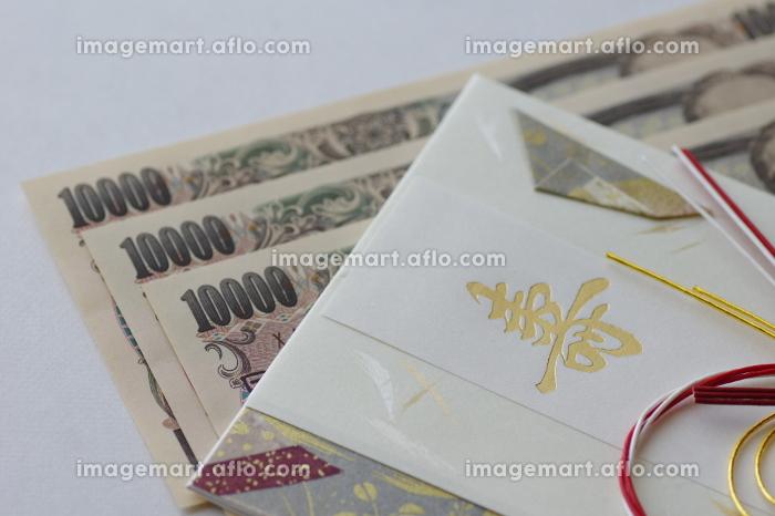 お金とご祝儀袋の販売画像