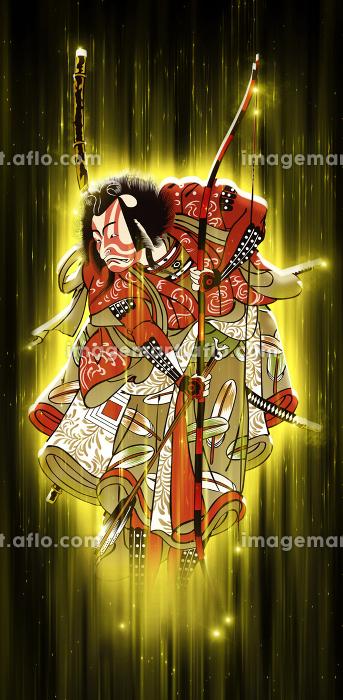 浮世絵 歌舞伎役者 その66 光バージョンの販売画像
