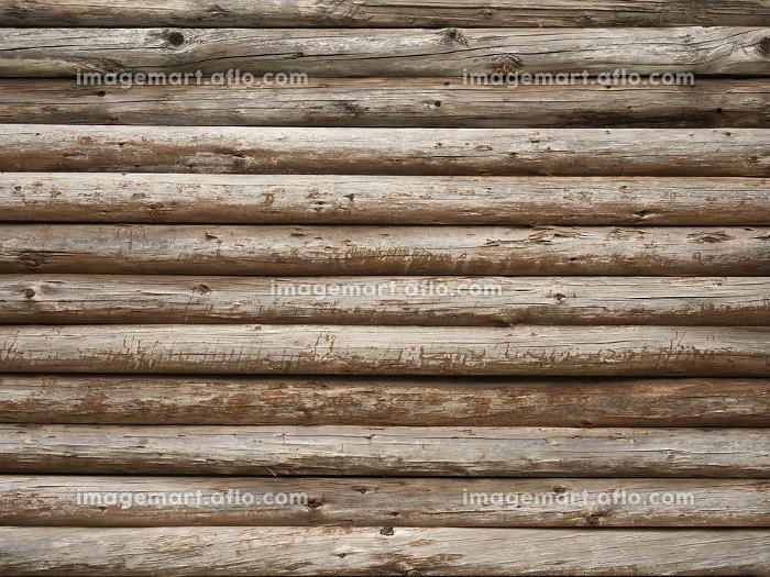 丸太の壁の販売画像