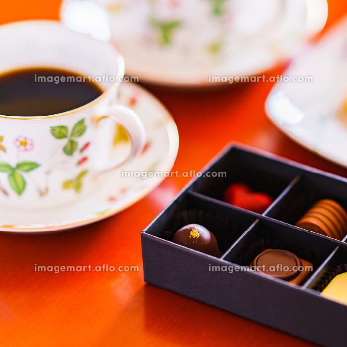 チョコレート ハート型 コーヒー 【バレンタイン】の販売画像